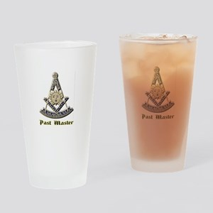 A F & A M Past Master Drinking Glass