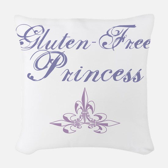 Gluten-Free Princess Woven Throw Pillow