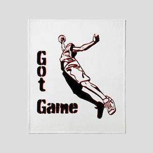 Got Game Throw Blanket