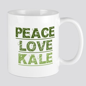 Peace Love Kale Mugs