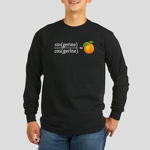 tan(gerine) math Long Sleeve T-Shirt