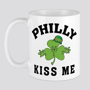 Philly Irish Kiss Me Mug