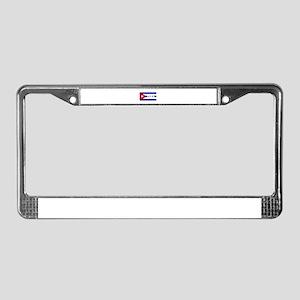 Love Cuba License Plate Frame