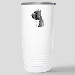 American Bully Dog Stainless Steel Travel Mug