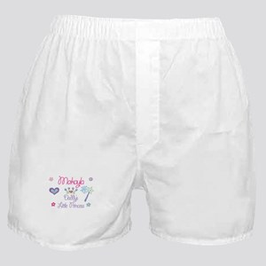 Makayla - Daddy's Little Prin Boxer Shorts