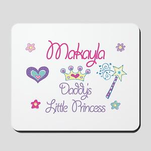Makayla - Daddy's Little Prin Mousepad