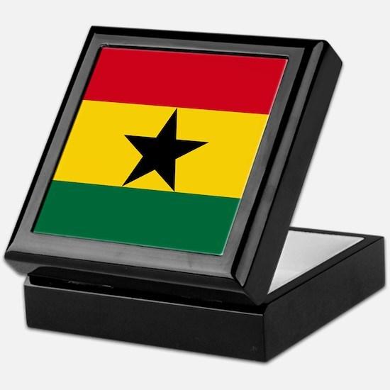 Flag of Ghana Keepsake Box