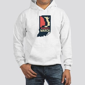 Indiana State Outline - Women's March Sweatshirt