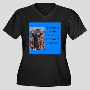 Richrd nixon quotes Plus Size T-Shirt