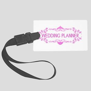 Wedding Series: Wedding Planner Large Luggage Tag