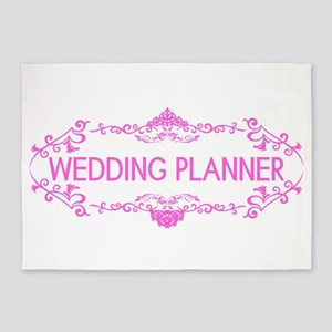 Wedding Series: Wedding Planner (Pi 5'x7'Area Rug