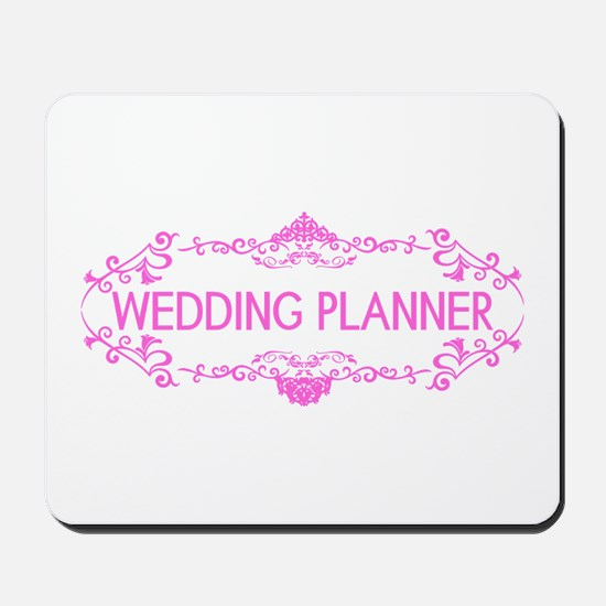 Wedding Series: Wedding Planner (Pink) Mousepad