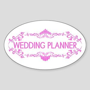 Wedding Series: Wedding Planner (Pi Sticker (Oval)
