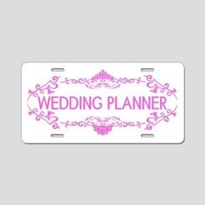 Wedding Series: Wedding Pla Aluminum License Plate