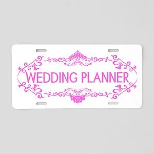 Wedding Series: Wedding Pla Aluminum License Plate