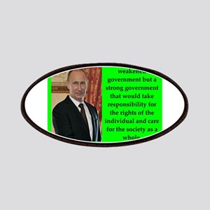 Vladiir Putin Quote Patch