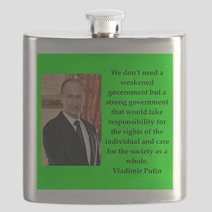 Vladiir Putin Quote Flask