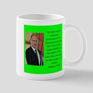 Vladiir Putin Quote Mugs