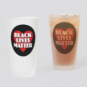 Black Lives Matter Drinking Glass
