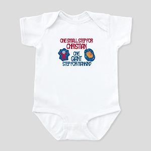 Christian - Astronaut Infant Bodysuit