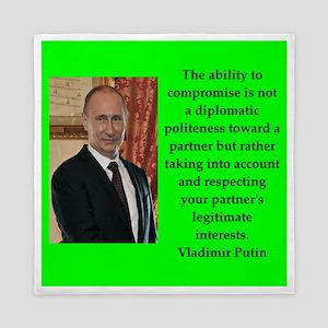 Vladiir Putin Quote Queen Duvet