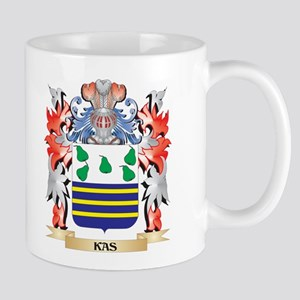 Kas Coat of Arms - Family Crest Mugs