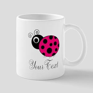 Pink Ladybug Mugs