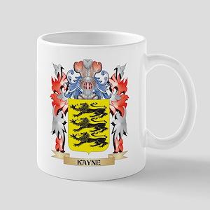 Kayne Coat of Arms - Family Crest Mugs