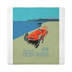 French Riviera-Race Car-1948 Queen Duvet