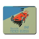 French Riviera-Race Car-1948 Mousepad
