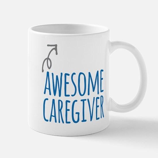 Awesome caregiver Mugs