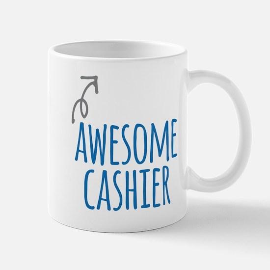 Awesome cashier Mugs