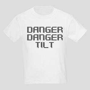 Danger Danger Tilt Pinball Kids Light T-Shirt