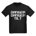 Danger Danger Tilt Pinball Kids Dark T-Shirt