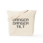 Danger Danger Tilt Pinball Tote Bag