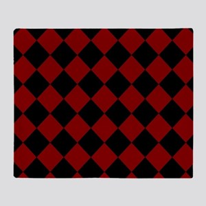 Diamond Checker Board Throw Blanket