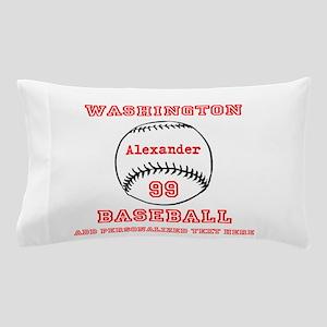 Baseball Personalized Pillow Case