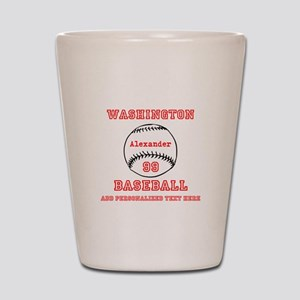Baseball Personalized Shot Glass