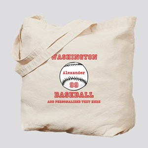 Baseball Personalized Tote Bag