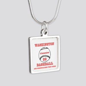 Baseball Personalized Necklaces