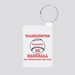 Baseball Personalized Keychains