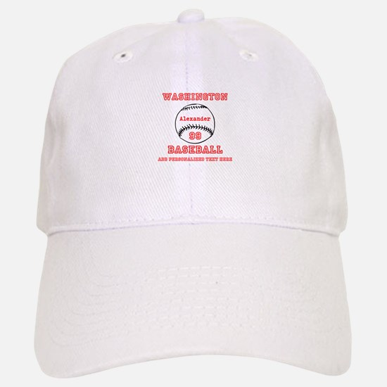 Baseball Personalized Hat