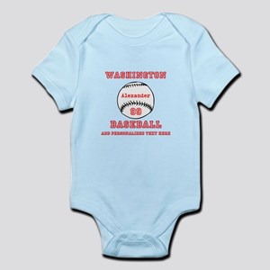 Baseball Personalized Body Suit