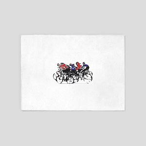 Bikers 5'x7'Area Rug