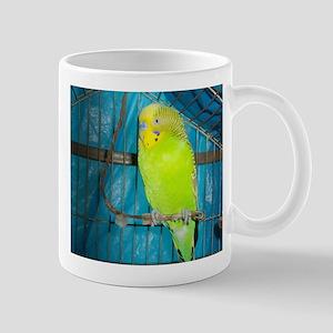 Healthy Green Budgerigar Mugs
