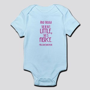 Shakespeare Fierce Quote Body Suit