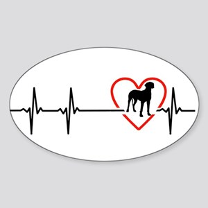 i love great dane Sticker