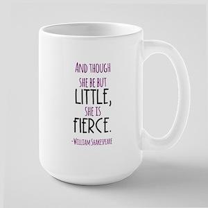 Shakespeare Fierce Quote Mugs