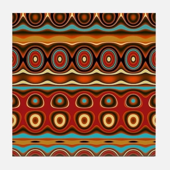 Unique Copper Tile Coaster