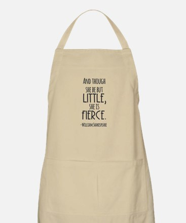 Shakespeare Fierce Quote Apron